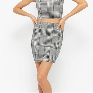 Forever 21 Plaid Skirt Sz Small
